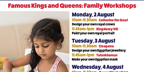 Creative Ideas: Kings and Queens tickets