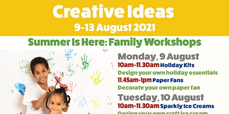 Creative Ideas: Summer is Here tickets