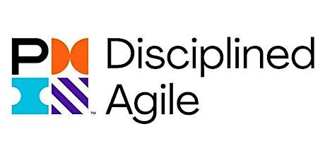 Virtual Live: DASM - Disciplined Agile Scrum Master (4-Half Days) boletos