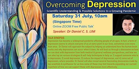 OVERCOMING DEPRESSION tickets