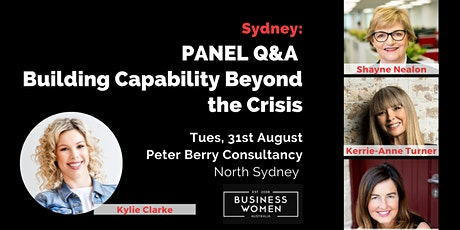 Sydney, Panel Q&A: Building Capability Beyond the Crisis tickets