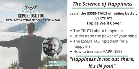 The Science of Happiness tickets