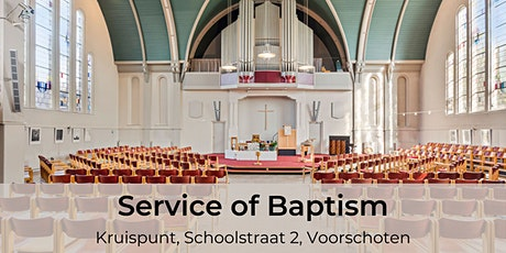 Baptism Service tickets