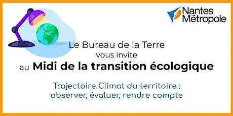 Midi de la Transition #5 : Trajectoire Climat du territoire billets