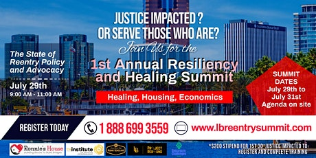 1st Annual Resiliency and Healing Summit tickets