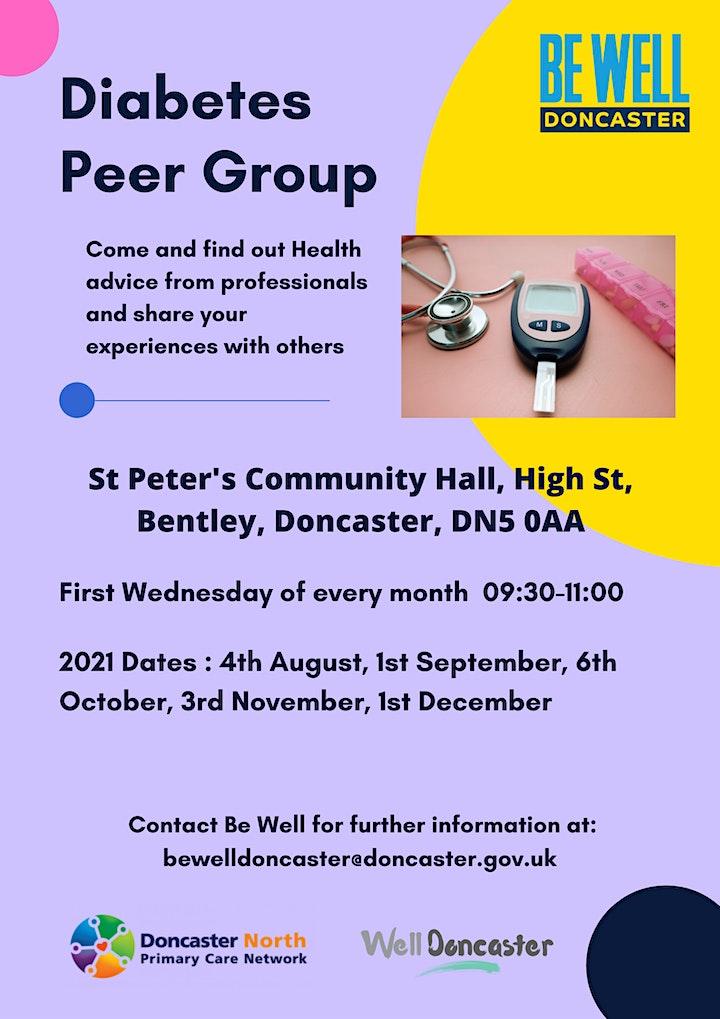 North Doncaster Diabetes Peer Group image