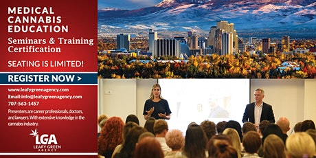 Nevada Medical and Adult Use Marijuana Dispensary Training Live Webinar tickets