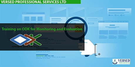Training on ODK for Monitoring and Evaluation tickets