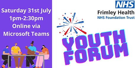 Shaping Frimley Health NHS Foundation Trust Youth Forum tickets