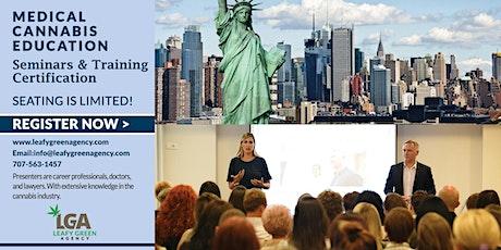 New York  Medical and Adult Use Marijuana Dispensary Training Seminar tickets