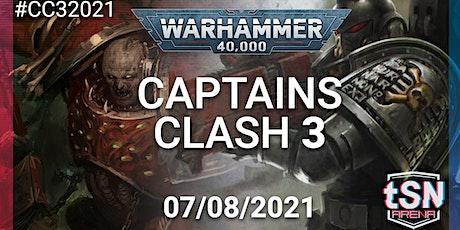 Captains Clash 3 - 40k 16 man singles event tickets
