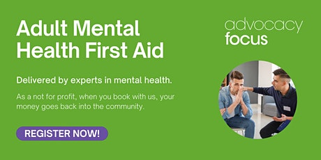 Two Day Adult Mental Health First Aid tickets