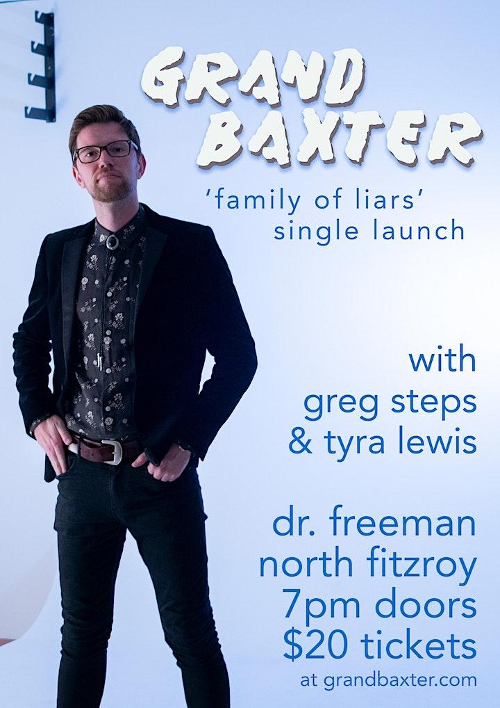 Grand Baxter (full band) at Dr. Freeman w/ Greg Steps & Tyra Lewis image