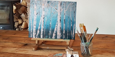 'Snowy Forest' Painting workshop & Christmas afternoon Tea @Sunnybanks tickets