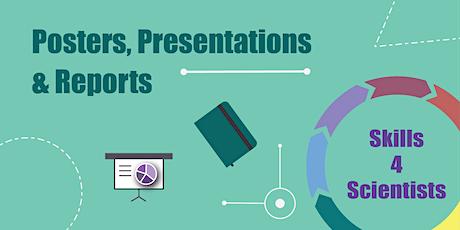 Skills4Scientists - Presentations, Posters & Reports biglietti