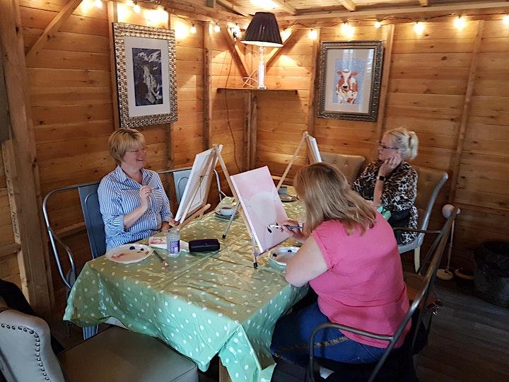 'No-drama Llama' Painting  workshop & Afternoon Tea @Sunnybanks image