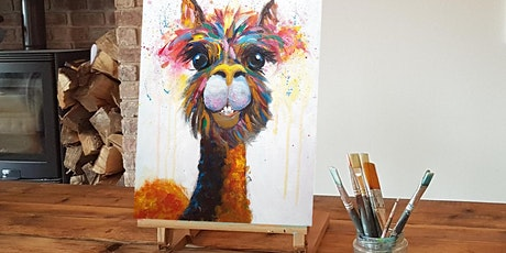 'No-drama Llama' Painting  workshop & Afternoon Tea @Sunnybanks tickets