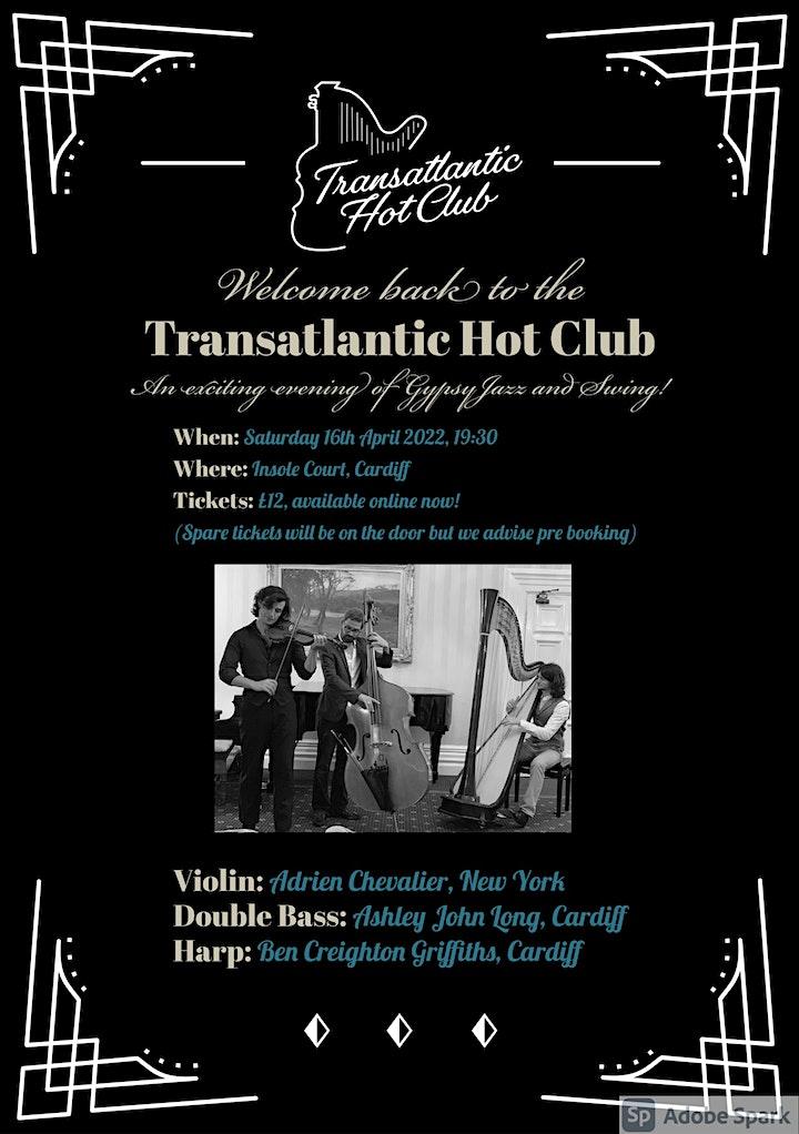 Transatlantic Hot Club Live @Insole Court image