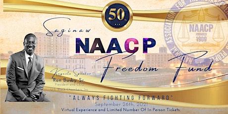 Saginaw NAACP Freedom Fund Celebration tickets
