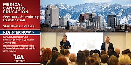 Utah Medical  Marijuana Dispensary Training Live Webinar tickets