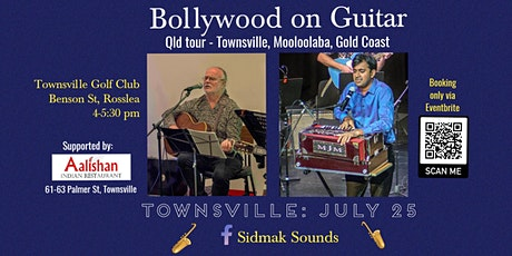 Bollywood on Guitar - TOWNSVILLE tickets