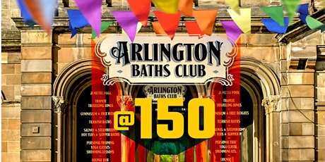 Swimmers in the city : 150 years of the Arlington Baths tickets