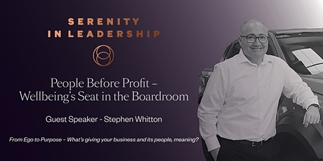 People Before Profit – Wellbeing's Seat in the Boardroom tickets