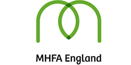 Adult (MHFA) Mental Health Awareness  - Half Day Course  *Subsidised tickets