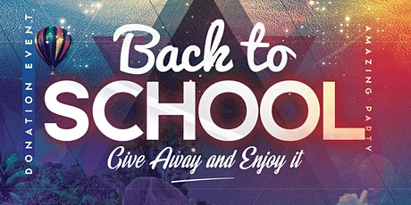 Back to School Event @ Hopes (322 Park Ave, Plainfield NJ 07060) tickets