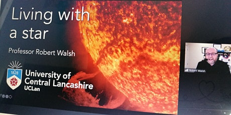"""HAF Summer Holiday Activity – Professor Robert Walsh """"Living with a Star"""" tickets"""