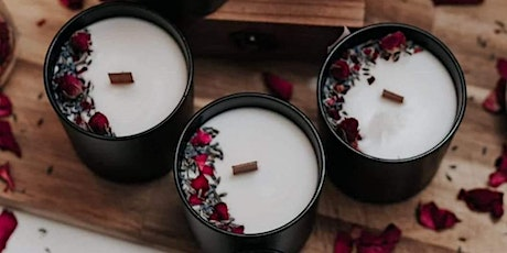 Personalised Scented Soy Candle making workshop tickets