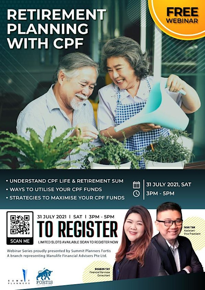 Retirement Planning With CPF. image