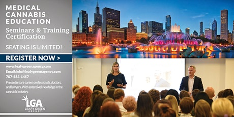 Illinois Responsible  Vendor  Dispensary Training (State Approved) Webinar tickets