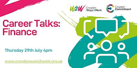 Ways2Work: A Career Talk in Finance tickets