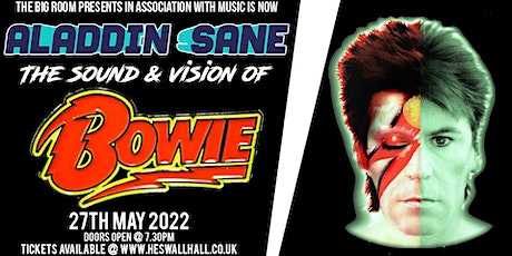 Aladdin Sane - The Sound & Vision of Bowie Tribute tickets