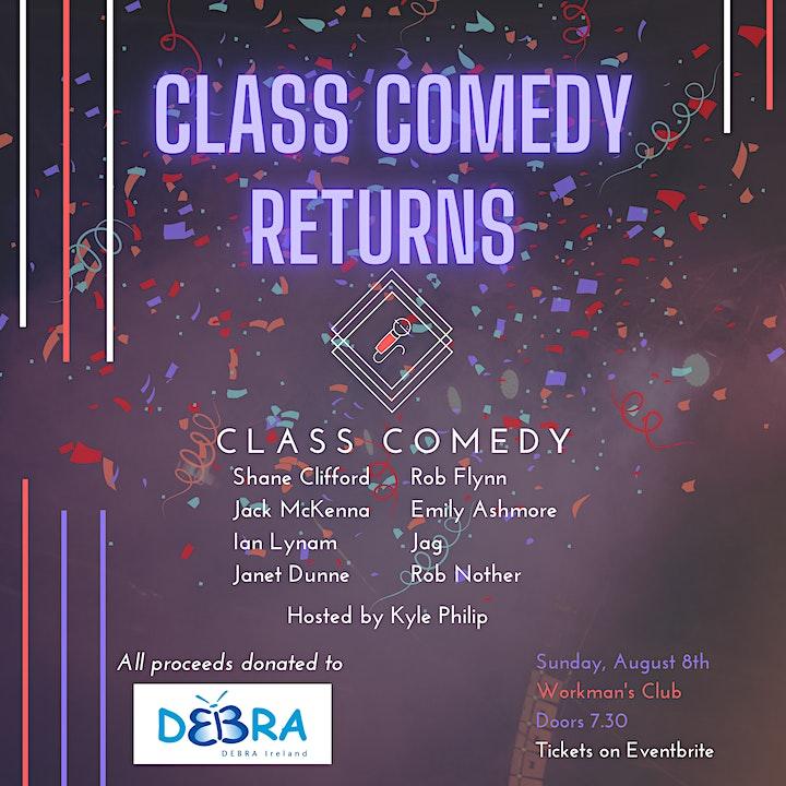 Class Comedy Returns! image