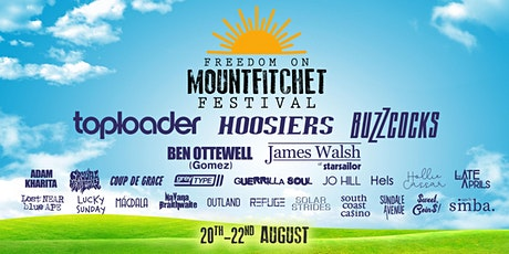 The Hoosiers at Freedom on Mountfitchet Festival tickets