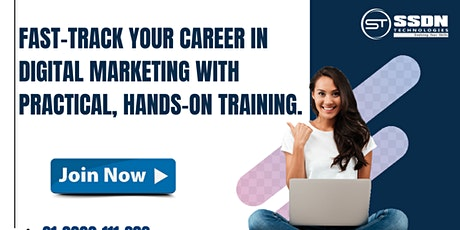 Fast Track Your Career With Digital Marketing tickets