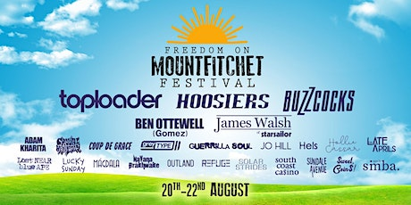 Toploader at Freedom on Mountfitchet Festival tickets