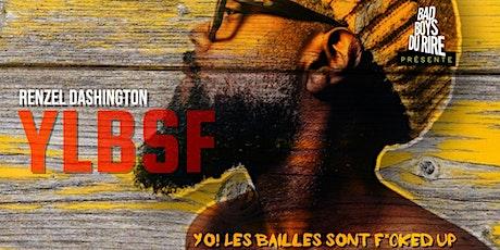 Renzel Dashington - YLBSF tickets