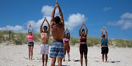 Yoga on the beach in South Beach tickets