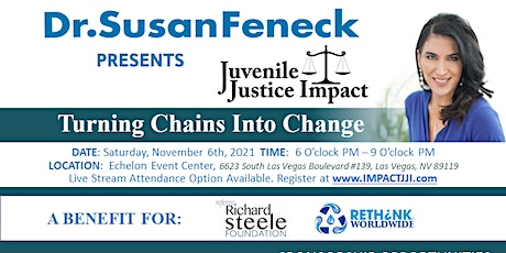 3rd Annual Juvenile Justice Impact Gala tickets