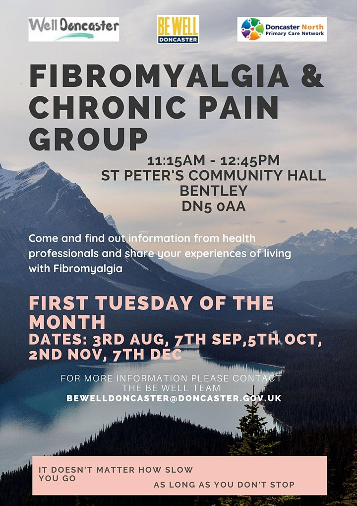 North Doncaster Fibromyalgia & Chronic Pain Peer Support Group image
