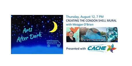 Arts After Dark - Creating the Condon Shell Mural with Meagan O'Brien tickets