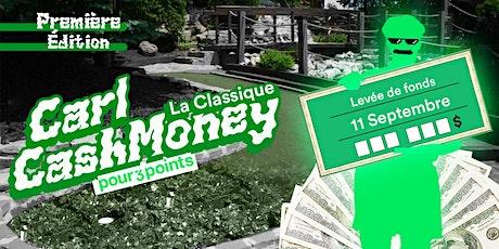 Classique Carl CashMoney, au profit de Pour 3 Points tickets