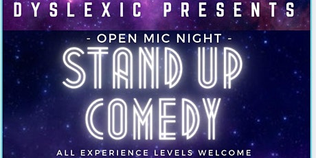 OPEN MIC - STAND UP COMEDY NIGHT | OPEN SIGN UP | ALL EXP. LEVELS tickets