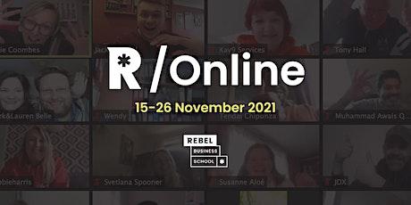 Rebel Nationwide - Online Business Course November 2021 tickets
