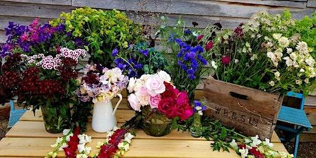 Cut Flower Workshop: Hand-tied Bouquet and posie making tickets