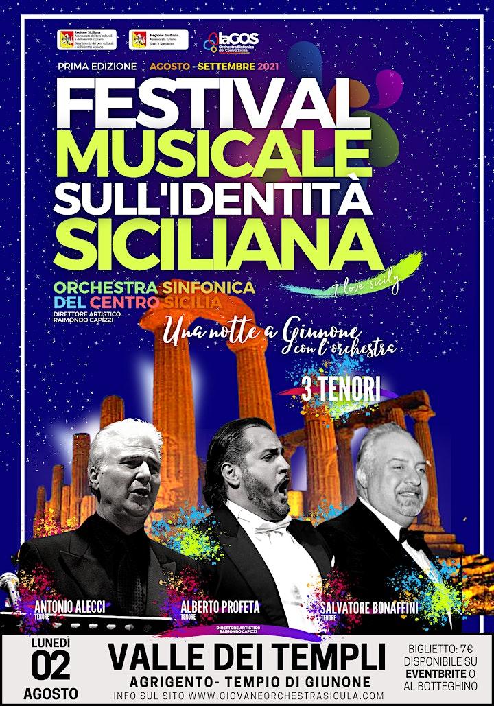 Immagine Una notte al Giunone - i 3 Tenori Siciliani