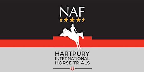 NAF Five Star Hartpury International  Horse Trials tickets